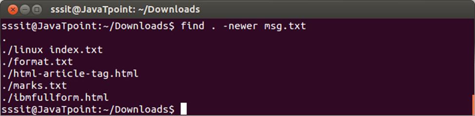 Linux Find3