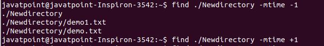Linux Find
