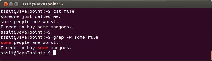 Linux Grep Regular Expression8