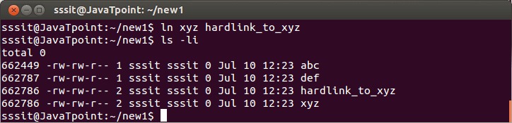 Linux Hard Links1