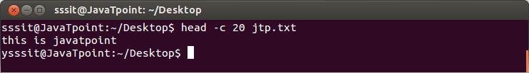 Linux head-c