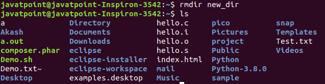 Linux Home Directory