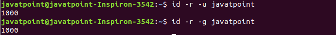 Linux id Command