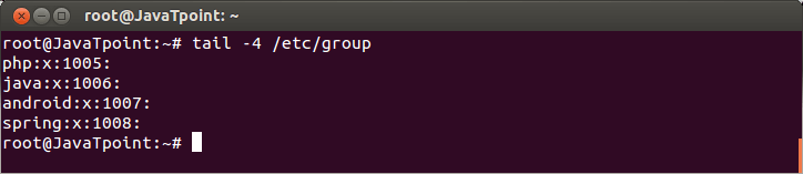 Linux Local Group2