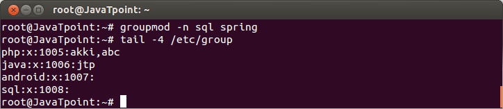 Linux Local Group5
