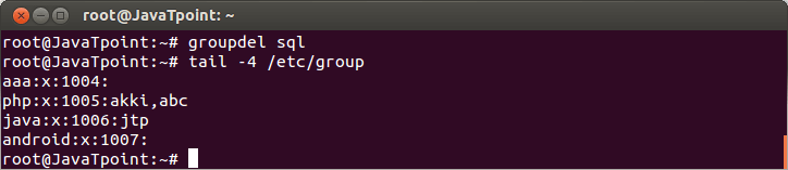 Linux Local Group6