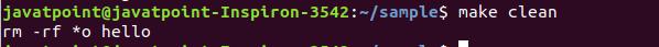 Linux make command