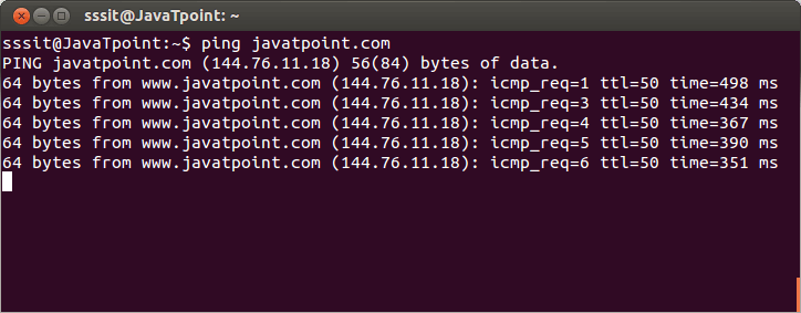 Linux ping1