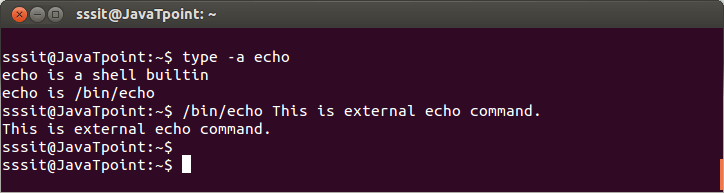 Linux Shell Expansion Command3