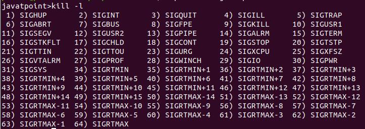 Linux Signals