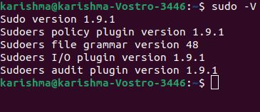 Linux sudo