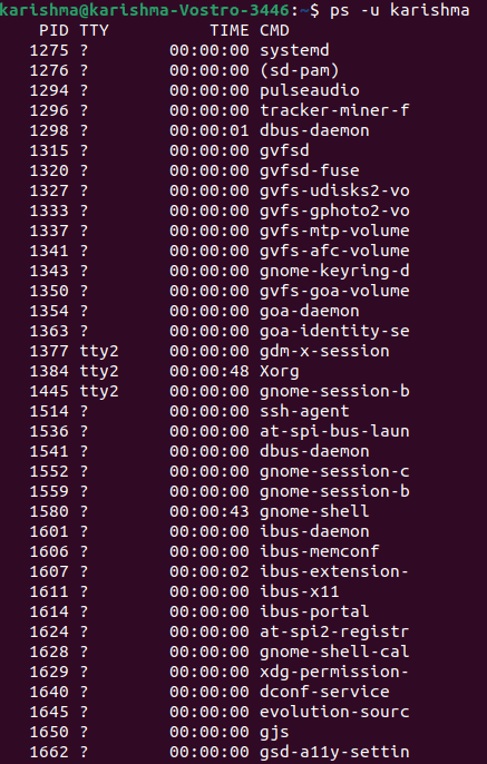 Linux Task Manager
