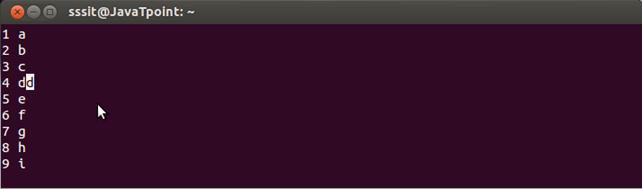 Linux Vi Delete1