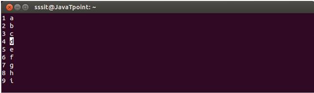 Linux Vi Delete2