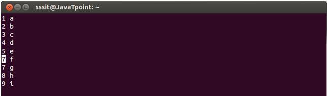 Linux Vi Delete5