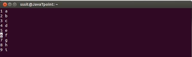 Linux Vi Delete6