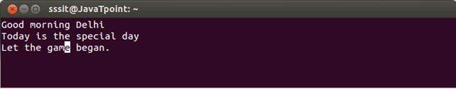 Linux Vi Delete9