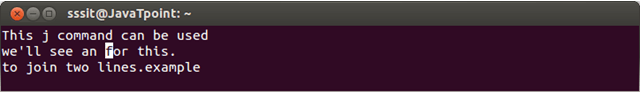 Linux Vi Word6