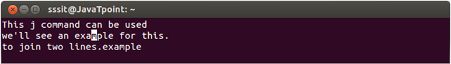 Linux Vi Word7