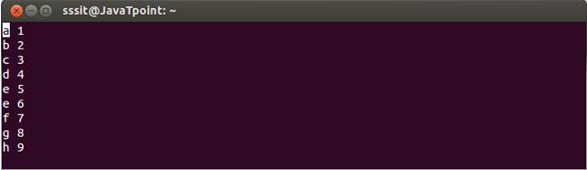 Linux Vi Move1