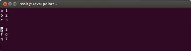 Linux Vi Move3