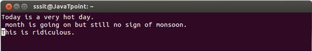 Linux Vi Move6
