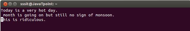 Linux Vi Move7