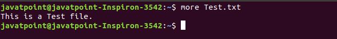 Open File in Linux