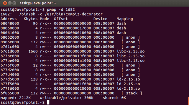 Linux Pmapd1