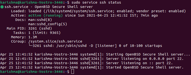 SSH Command