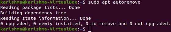 Ubuntu Update Command