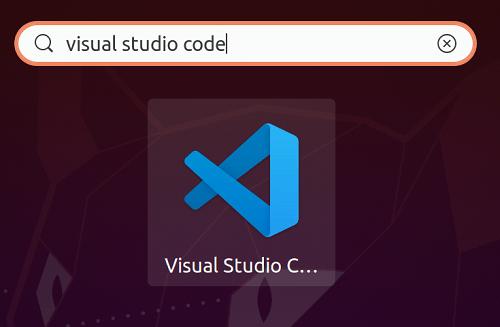 vscode for Ubuntu