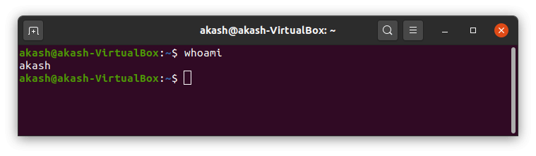 Who command in Linux
