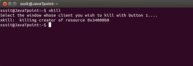 Linux xkill2