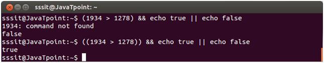 Linux Shell Scripting eval 5