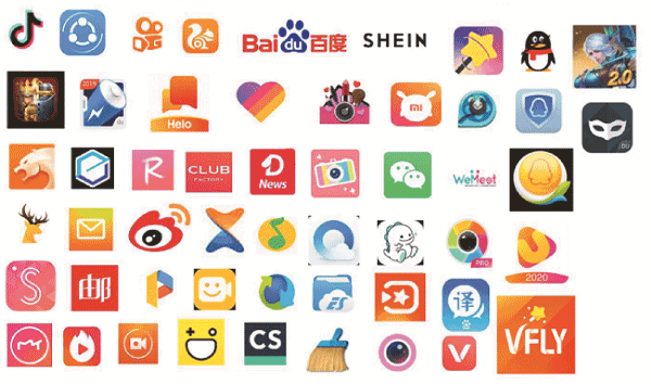 List of Chinese app in India