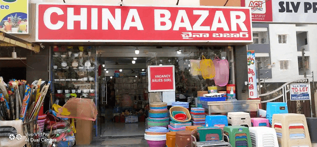 List of Chinese Products in India