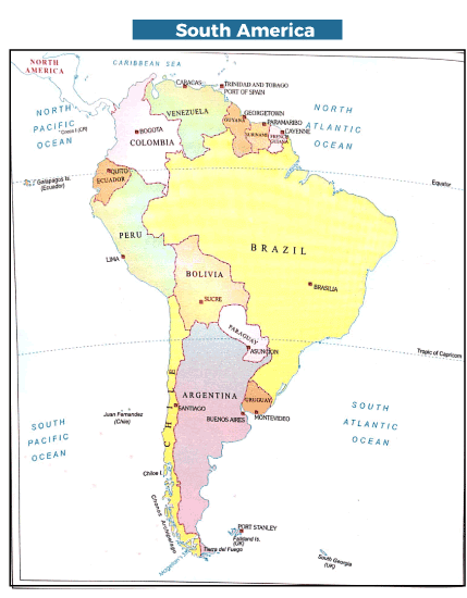 List of Continents