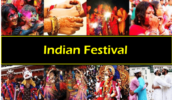 List of the Indian Festivals