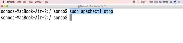 Macos Apache 4