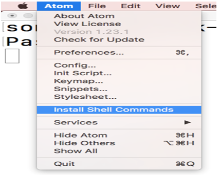 How to Install Atom on Mac - javatpoint