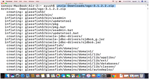 How to Install GlassFish on Mac - javatpoint