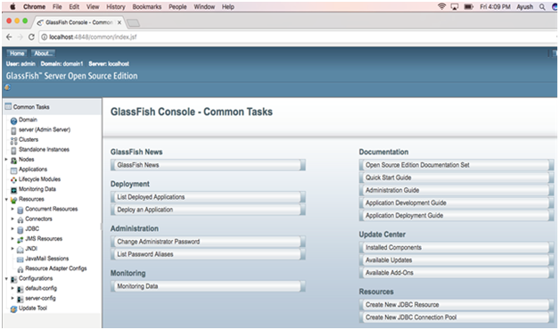 How to Install glassfish on MacOS