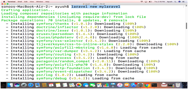 How to Install Laravel on Mac - javatpoint