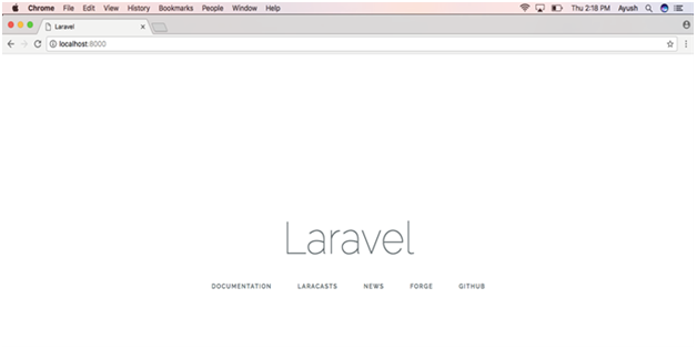 How to install Laravel on MacOS