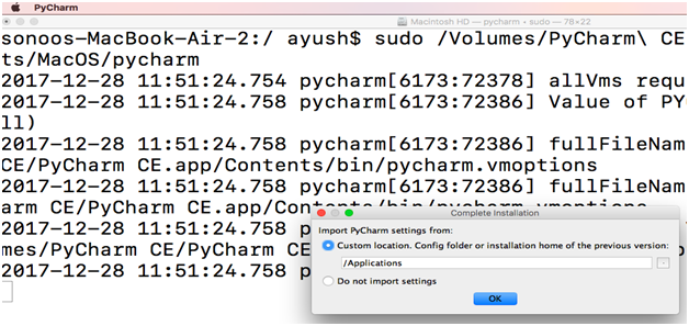How to install PyCharm on MacOS