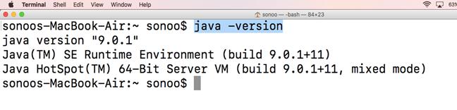 Macos Java 3