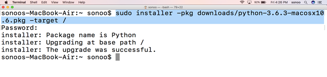 How to Install Python on Mac - javatpoint