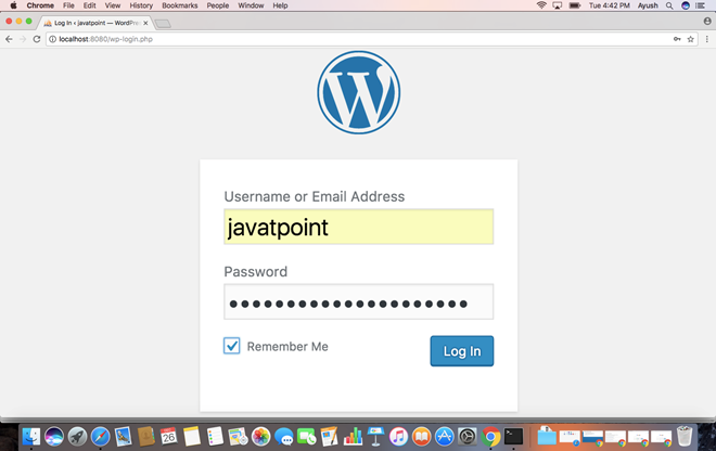 Macos WordPress 10