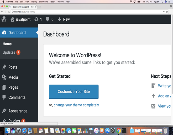 Macos WordPress 11